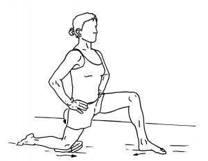61 hip flexor stretch