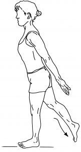 77b hip extension